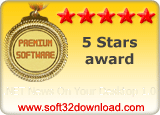 .NET News On Your Desktop 1.0 5 stars award