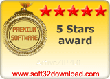 ActiveZIP 4.0 5 stars award