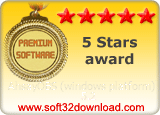AhsayOBS (windows platform) 5.2 5 stars award