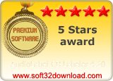 AudioLabel CD Labeler 4.20 5 stars award