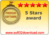 Bat Bat Ball 3.00 5 stars award