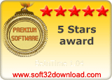 BeInTime 1.04 5 stars award