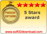Bible Crossword Challenge 1.00 5 stars award