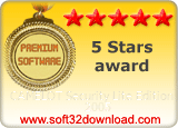 CAMELOT Security Lite Edition 2005 5 stars award