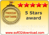 CD & DVD Burner & Grabber Core 4.05 5 stars award