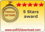 CheapestSoft DVD to iPod Video Converter 2.0.1 5 stars award
