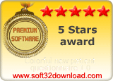 Colorful new patient questionnaire 1.0 5 stars award