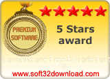 ConnectCode Free Barcode Font 5.0 5 stars award
