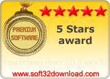 CountDown Timer in Flash 1.01 5 stars award