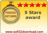 Cutting Line 2.0 5 stars award
