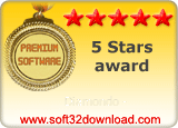 Diamondo - 5 stars award