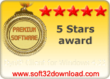DynIP Client for Windows 4.22 5 stars award