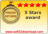 Easy Shred 1.00 5 stars award