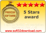 Express Scribe Transcription Software Pro 5.78 5 stars award