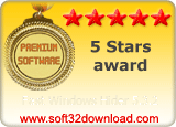Fast Windows Hider 5.3.2 5 stars award