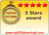 FlashSpring 1.1 5 stars award