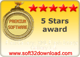 FlexiGallery: XML Flash Image Gallery 1.5 5 stars award