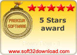 Flower Field 1.0 5 stars award