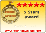 HAWKSTAR Light 5 stars award