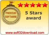 Halloween Colors 2004 5 stars award