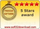 Haunted House Diary 1.0 5 stars award