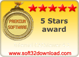 Internal CADviewer 4.2 5 stars award