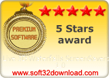 Live 3D Waterfalls ScreenSavers 1.0 5 stars award