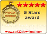 LiveProject Free Project Viewer 2.5 5 stars award