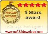 Movie Label 2006 1.0 Beta 5 stars award
