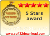 Moyea PPT to DVD Burner 2.7 5 stars award