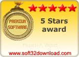 Munch A Word - 5 stars award