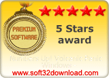 Numbers Up! Volcanic Panic Windows - 5 stars award
