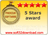 Omniquad Desktop Suvelliance Personal Edition 4.0 5 stars award