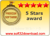 Rainbow Web 2 1.0 5 stars award