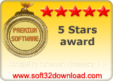 Registry Rescue Browser 1.2 5 stars award