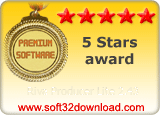 Riva Producer Lite 2.43 5 stars award