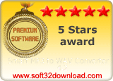 Smart MP3 to WAV Converter 4.2 5 stars award