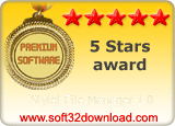Stylet File Manager 1.0 5 stars award