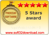 SuperVoice CRM 1.0 5 stars award