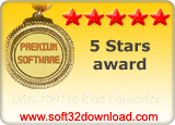 Ultra DVD to iPod Converter - 5 stars award