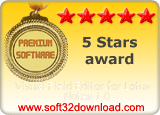 Visual Field Editor for Lotus Notes 1.0 5 stars award