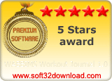WABBIMS Workout Journal 1.0 5 stars award