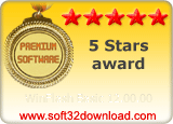 WinFlash Basic 12.00.00 5 stars award