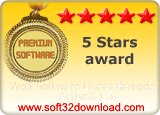 Wolf Software Linear Barcode ActiveX 1.5 5 stars award