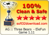 AG :: Three Bears  - EleFun Game 1.11 Clean & Safe award