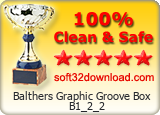 Balthers Graphic Groove Box B1_2_2 Clean & Safe award