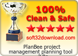 PlanBee project management planning tool 2.0e Clean & Safe award